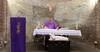 1hl. Messe in den Katakomben